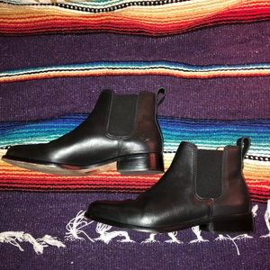 Madewell Ainsley Chelsea boot in leather